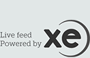 Market exchange rates provided by xe.com
