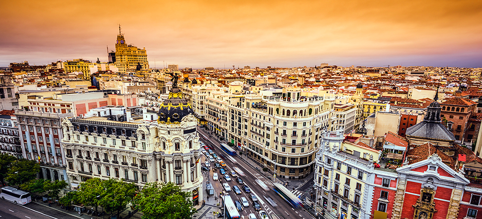 Madrid Spain property money transfer app