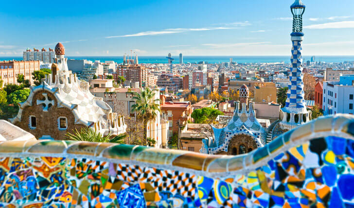 Views-from-Park-Guell Spain