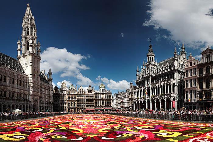 Send Money to Belgium